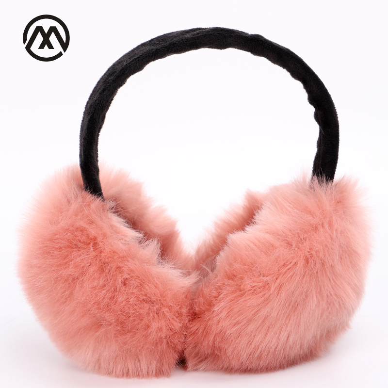 Autumn And Winter New Warm And Comfortable Solid Color Earmuffs Men And Women Universal Ski Sports Earmuffs Girl's Headphones