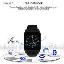 ФОТО fu&y bill new original x86 bluetooth 3g wifi smart watch android 5.1 os camera 2.0 mega pixel support sim card whatsapp facebook