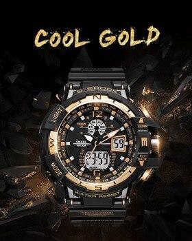 SMAEL Sport Watch Men 2019 Clock Male LED Digital Quartz Wrist Watches Men's Top Brand Luxury Digital-watch Relogio Masculino 1