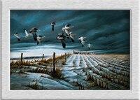 Terry Redlin WINTER_SNOWS pittura a olio HD stampa su tela art Giclée murales decorazione della casa vacanza regalo senza cornice