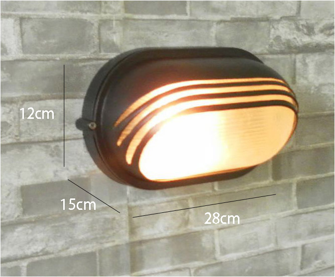 ФОТО Aluminum Outdoor Wall Lamp Waterproof moisture-proof lamp contracted garden White Black Aluminum Porch Frosted Glass Wall light