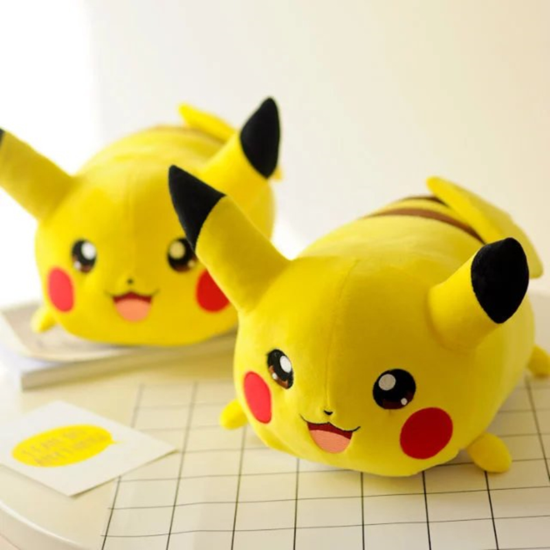 23cm Kawaii Pikachu Plush detective Toys Cute Soft Cartoon Stuffed Animal Doll Childrens Gift Toy Kids