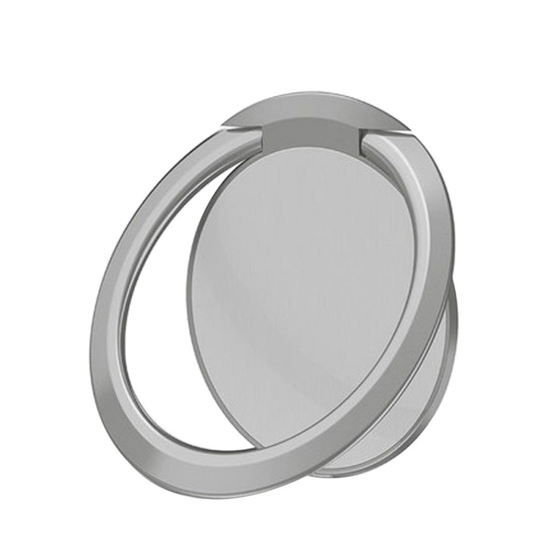 Ultra-Thin 360 Disc Rotating Metal Phone Ring Buckle Bracket Zinc Alloy Universal Smart Holder