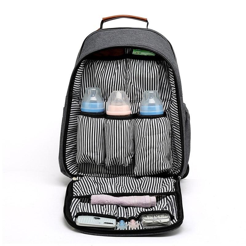 Nappy sac bébé sac à langer sac à dos grande capacité maman sac à dos Insert organisateur pour garçon fille maman sac à dos femmes porter des sacs de soins