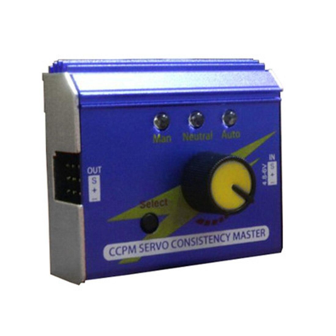 CCPM 3 canales Digital/analógico Multi ESC Servo probador R/C avión coche barco