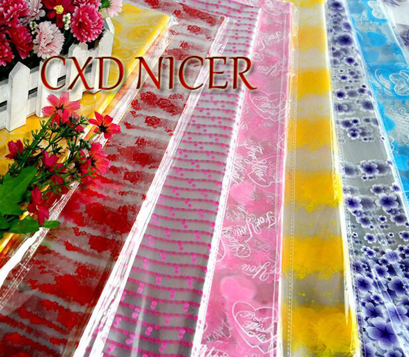 Flower Bouquet Wrapping Paper Transparent Printed Scrapbooking Paper DIY Craft Packing Paper F765