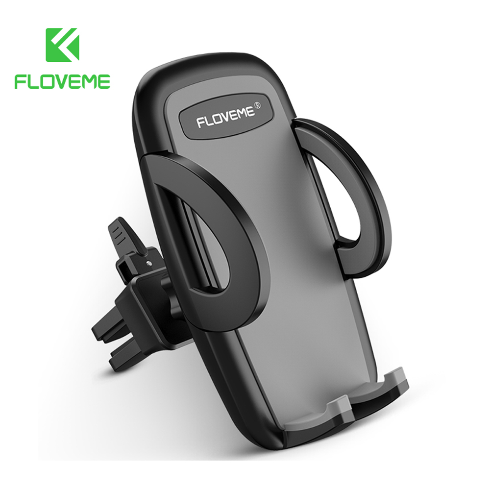 FLOVEME Air Vent Car Phone Holder For iPhone 8 SE Samsung S8 Mount Holder For Phone in Car Mobile Phone Holders Stands Support