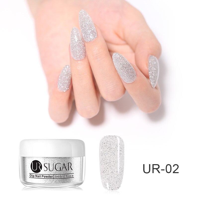 1 г/кор. голографические блёстки для ногтей порошок градиент для УФ гель-лака ногтей украшения сахарный блеск окунание маникюр Дизайн ногтей