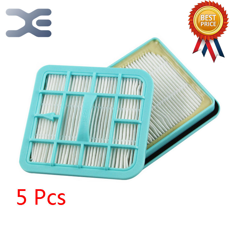 5Pcs Lot High Quality Compatible With For Philips Vacuum Cleaner Accessories Filter FC8220 / 8222/8274 HEPA Filter