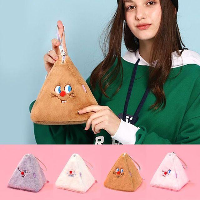 Bentoy Milkjo Flannel Soft Coin Purse Girls