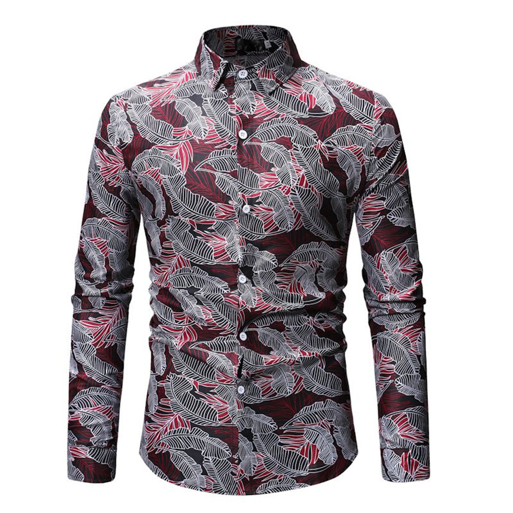 Men's Clothing Collection Here 10xl 8xl 6xl Men Shirts Cotton Fashion Long Sleeve Casual Shirt Tops Floral Print Embroidery New Brand Dress Men Blouses Shirt Casual Shirts
