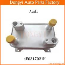 Новый Двигатель Трансмиссия Масляный Радиатор OEM 4E0317021H для Audi