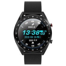 L7 Smart Bracelet Metal Dynamic Heart Rate Blood Pressure Oxygen Sleep Monitoring IP68 Waterproof Fitness Tracker Sports Watch
