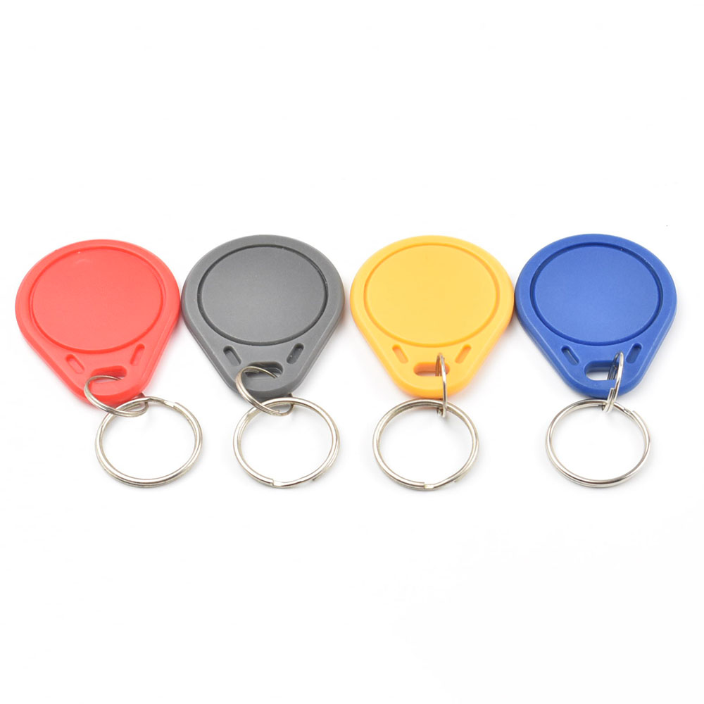100pcs/lot CUID Android App MCT Modify UID Changeable NFC 1k S50 13.56MHz Keyfob Block 0 Writable Iso14443A