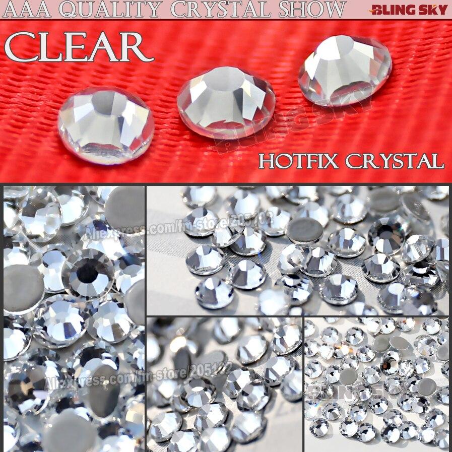 Bra kvalitet! AAA HotFix Rhinestone SS20 Klar Crystal 1440st / Bag - Konst, hantverk och sömnad - Foto 2