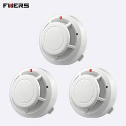 FUERS качество независимая сигнализация дым пожаробезопасный детектор внутренней безопасности беспроводной предупреждение детектора дыма