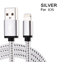 Olsonbo USB Cable For IPhone 5s I5 6s 6 7 Plus Mobile Phone Cable Data Sync
