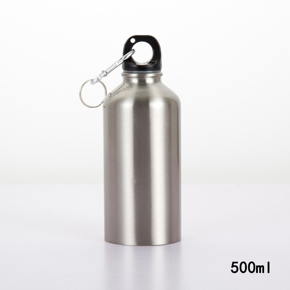 500ML/750ML Outdoor Stainless Steel Water Bottle Cycling Camping Bicycle Sports Thermal Insulation Drink Bottle Leak Proof