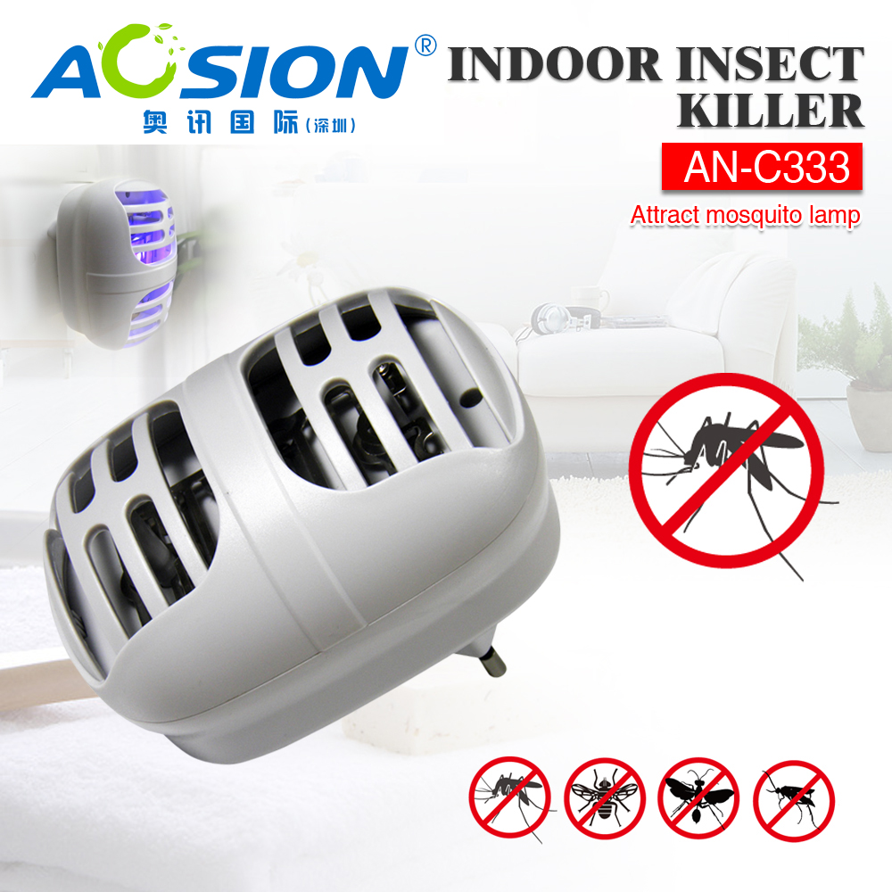 Aosion Free Shipping UL Plug indoor Mosquito Fly insect Killer with UVA  LEDLight lamp attract insects. Popular Insect Killer Indoor Buy Cheap Insect Killer Indoor lots