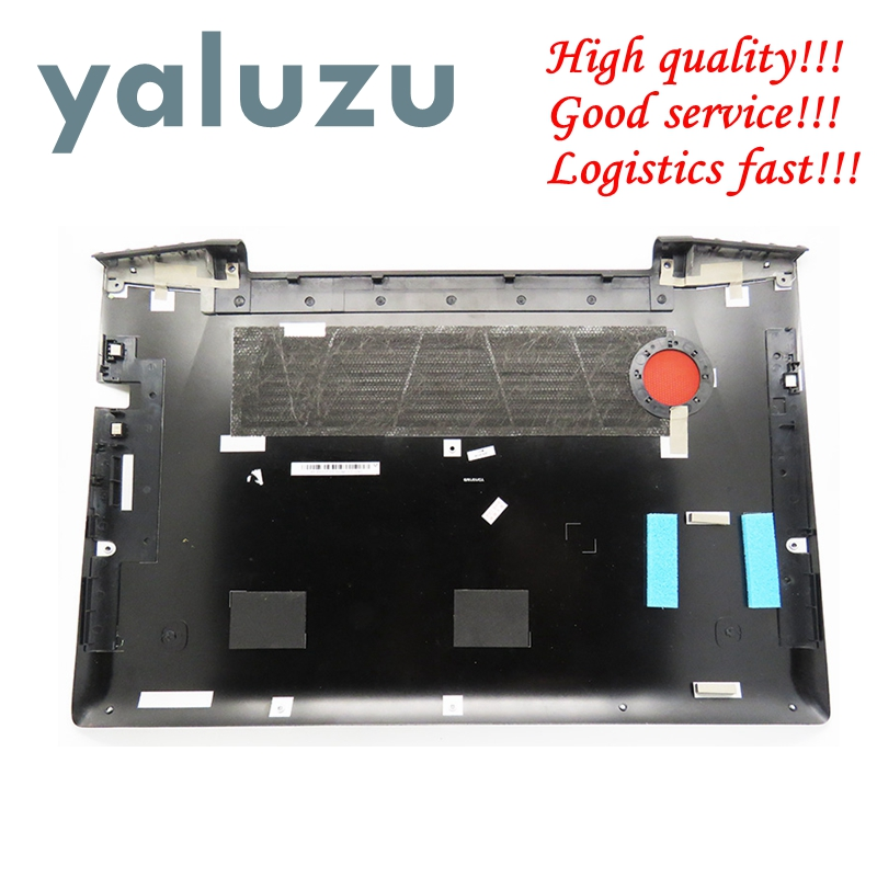 YALUZU New Laptop Bottom Base <font><b>Case</b></font> Cover For <font><b>Lenovo</b></font> <font><b>Y50</b></font>-70 <font><b>Y50</b></font> <font><b>Y50</b></font>-70A <font><b>Y50</b></font>-70AM <font><b>Y50</b></font>-70AS <font><b>Y50</b></font>-80 Y50P-70 Y50P-80 AM14R000530 <font><b>case</b></font> image
