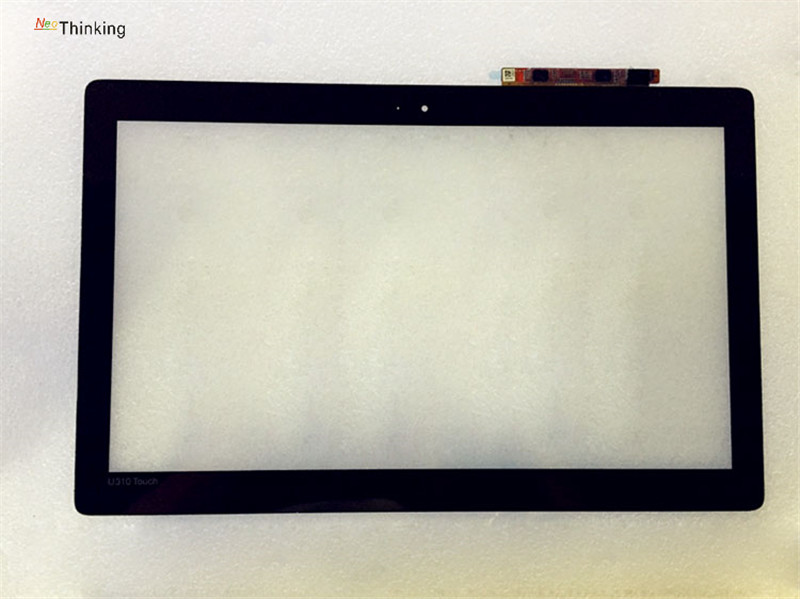 NeoThinking 13.3 inch Touch For Lenovo IdeaPad U330P U330 Touch Screen Digitizer Glass Replacement free shipping high quality laptop touch screen for lenovo u330 mcf 133 0870 fpc v6 0 ordinateur portable screen digitizer replacement panel