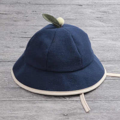 70c8c9b4ade ... Baby children s cotton bowl hat baby boy and girl fisherman hat spring  and autumn children travel