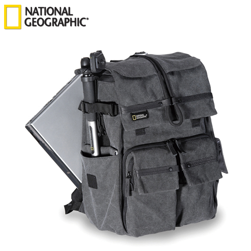 Free Shipping New Genuine National Geographic NG W5070 Camera Case Bag Shoulders Bag Backpack Rucksack Laptop Outdoor wholesale exempt postage ems national geographic ngw5070 ng w5070 walkabout 5070 doubleshoulder dslr camera rucksack backpack laptop bag