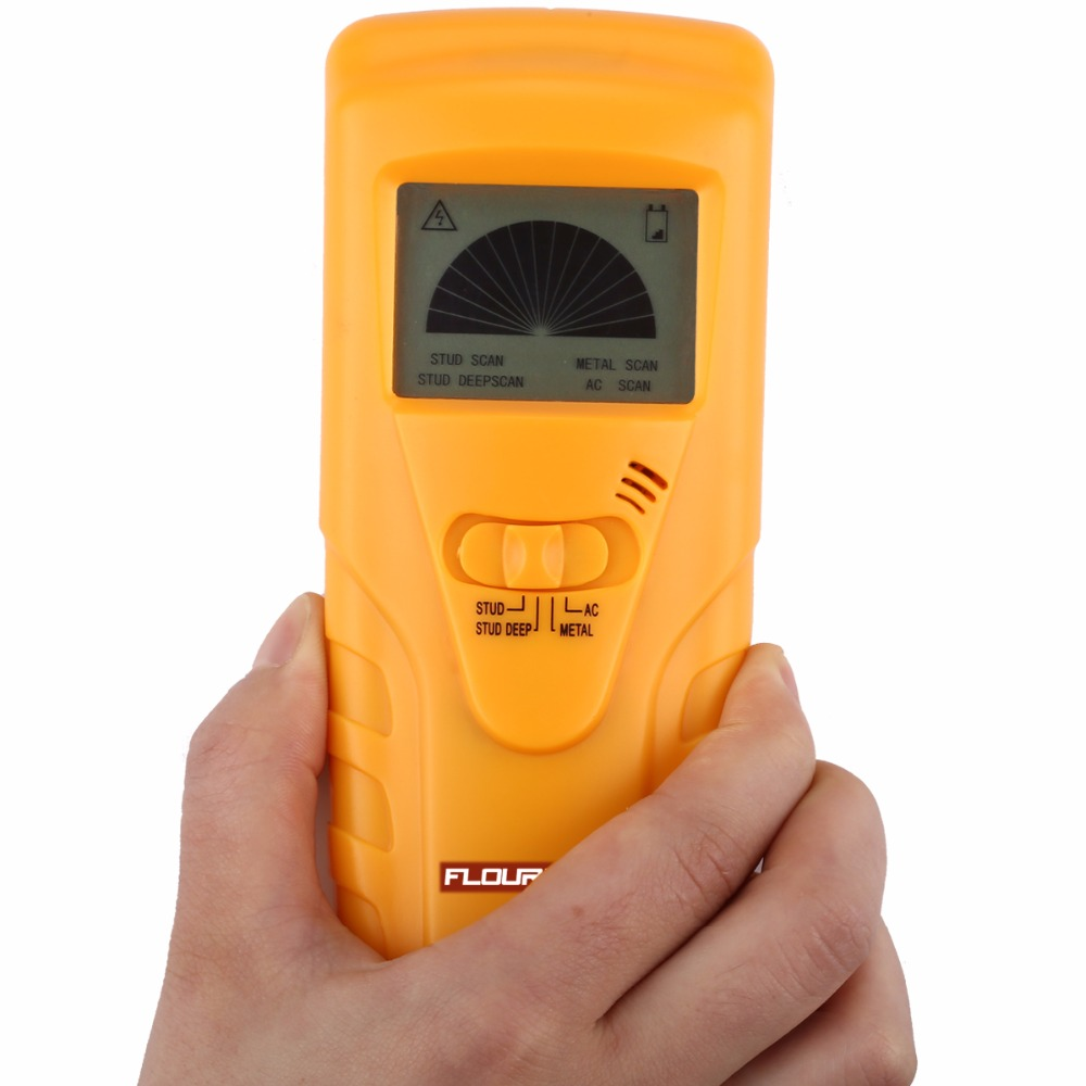 Floureon 3 In 1 Metal Detectors Find Wood Studs Ac Voltage Locating Electrical Wiring Behind Walls Live Wire Detect Wall Scanner Electric Box Finder Detector Industrial