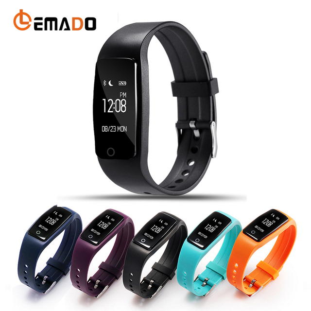 Lemado Smart Band Gps Movement Distance Calorie Fitness Tracker Bracelet Sleep Pedometer Heart Rate Monitor