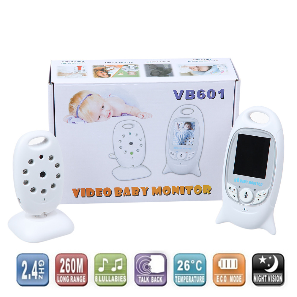 Infant 2.4 GHz Wireles Baby Radio Babysitter Digital Video Baby Monitor Audio Night Vision Music Temperature Display Radio Nanny free shipping b156htn03 4 laptop lcd panel 1920 1080 edp 30 pins for lenovo thinkpad edge e540 s531 s540