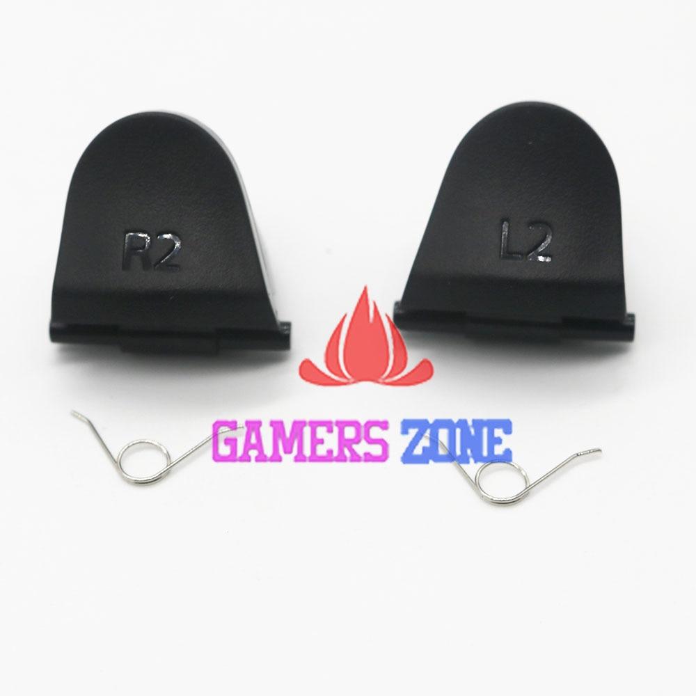 200 juegos = 800 piezas negro para DualShock 4 R2 L2 botones de disparador de repuesto + muelles para controlador PS4-in Accesorios y piezas de reemplazo from Productos electrónicos on AliExpress - 11.11_Double 11_Singles' Day 1