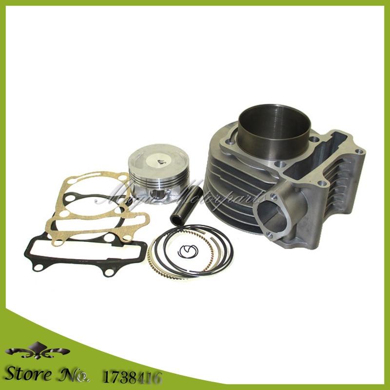 180cc cilindro 61mm gran cilindro Kit para GY6 125cc 150cc 1P52QMI 1P57QMJ motor Scooter ATV Quad