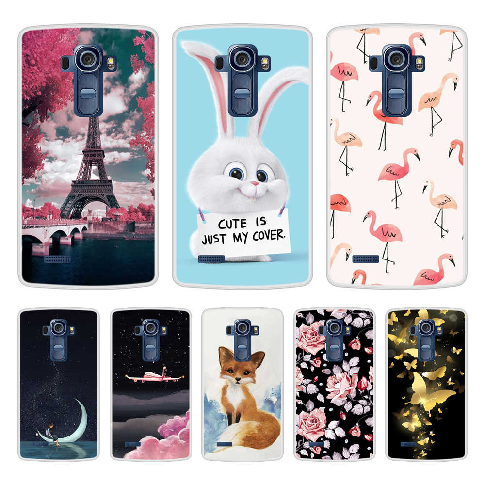 Fall Für LG G4 Weiche Silikon TPU Cooles Design Muster Painted Phone Cover Coque Für LGG4 H815 Fällen Auf Lager