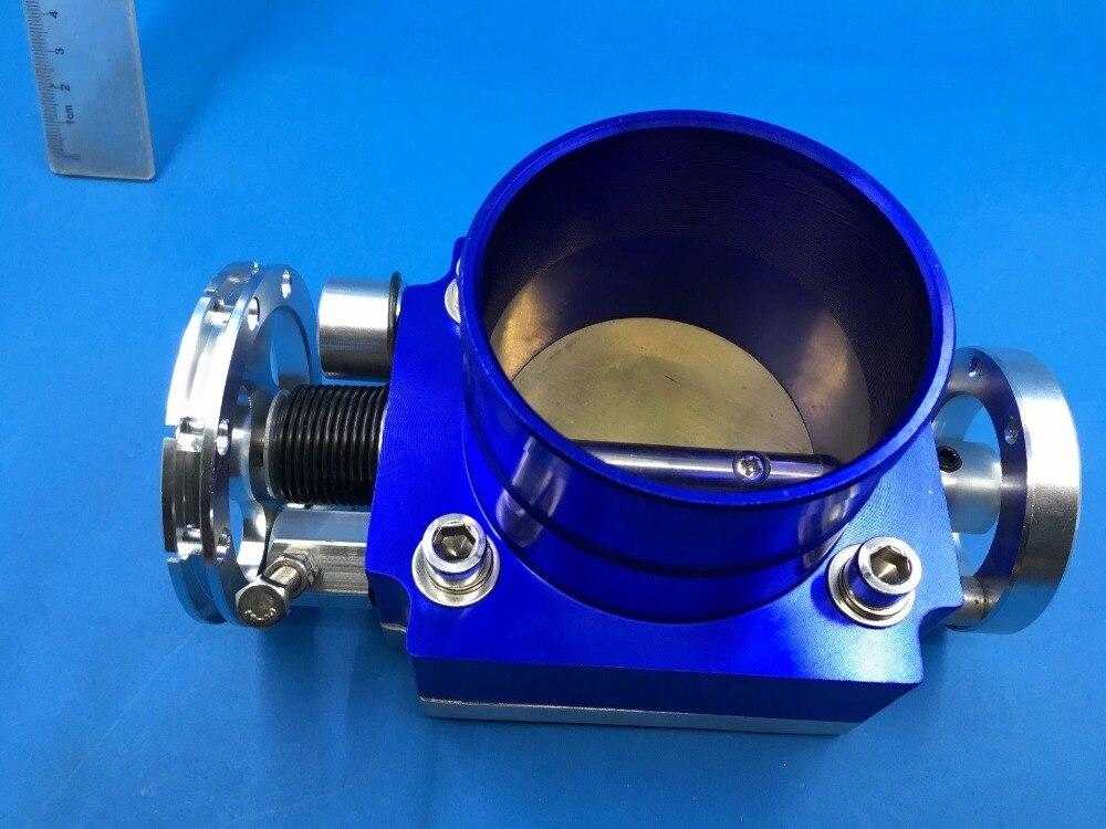 Sherryberg الأزرق البليت 70 ملليمتر خنق الجسم المنوع البليت الألومنيوم سباق تدفق عالية