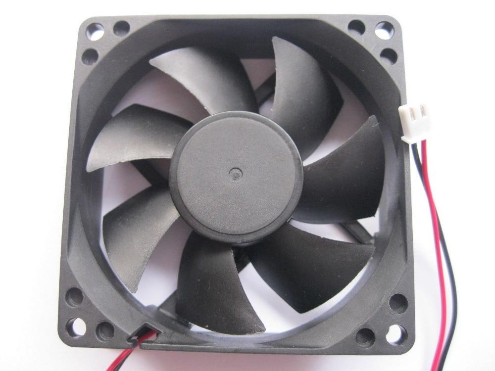 Liberal 2 Stücke Bürstenlosen Dc Kühlung 7 Klinge Fan 8025 S 12 V 80x80x25mm Heimwerker Heizung, Kühlung & Lüftung