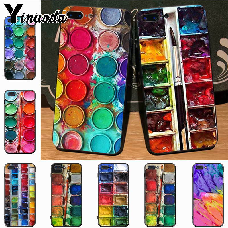 Yinuoda Colorful Watercolors Set Paint Palette Unique Design Newest The Case  for Apple iPhone 8 7 0ef115a129fb