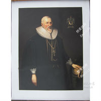 Free Shipping Hand painted Portrait painting of Duke