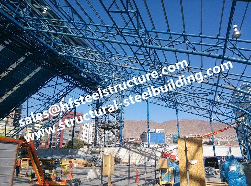 Société d'ingénierie de bâtiment en acier de la chine pour la conception d'architecture de bâtiment