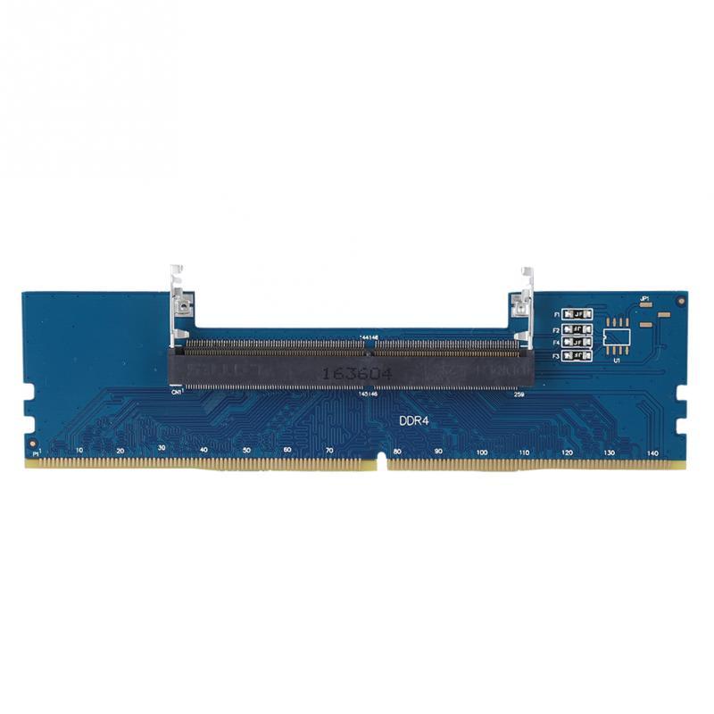 Professionnel Ordinateur Portable DDR4 SO-DIMM À De Bureau DIMM Mémoire RAM Connecteur Cartes Convertisseur Adaptateur