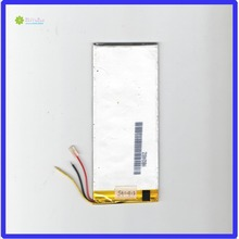 ZhiYuSun 3.7V chickness 3.1mm width 60mm length 145mm 3lines 4000mahpolymer lithium ion battery /Li-ion for tablet pc,;
