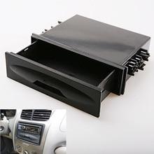 2016 Newest Universal Car auto Single Din Dash Radio Installation for Pocket Kit Storage Box for Cx-38