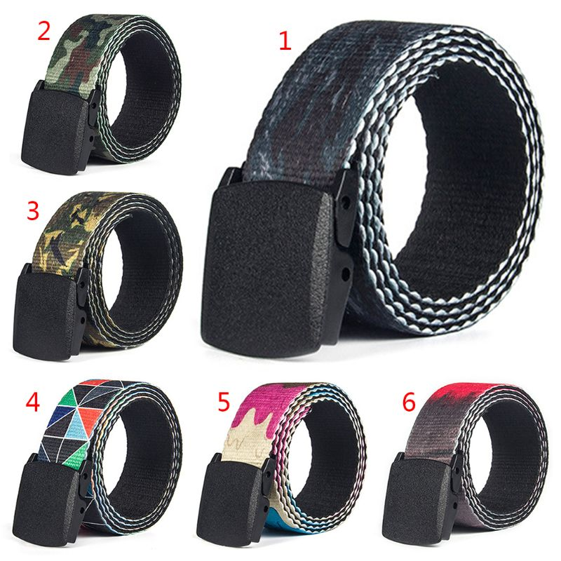 2019 Fashion Simple Unisex Belt Casual Smooth Buckle Waist Strap Clothing Accessories Decor Pants Elastic Band Belts Waistband