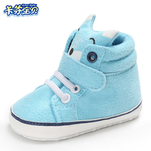 Newborn Baby First Walker Casual Shoes Animal Style Baby Boy Girl Shoes Anti-skid soft bottom Toddler Crib Shoe