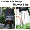 HY 20L Shower Bag Foldable Solar Energy Heated Camp PVC Water Storage Bag Outdoor Camping Travel Hiking Climbing BBQ Picnic