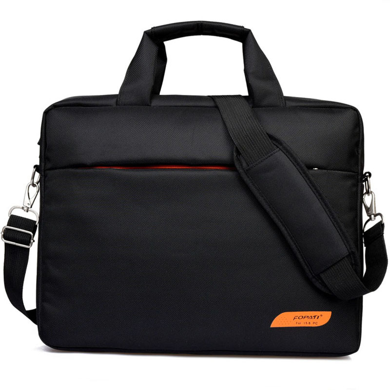 New Unisex 14.1 15.6 Inch Waterproof Nylon Single Shoulder Portable Laptop Bag For Lenovo ASUS Macbook Air Notebook Bag