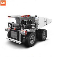 Xiaomi  toys Mitu  building blocks mine truck Children block car and toys Block vehicles Truck model assembly building block