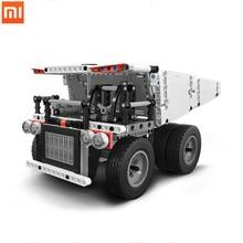 Xiaomi  toys Mitu building blocks mine truck Children block car and Block vehicles Truck model assembly