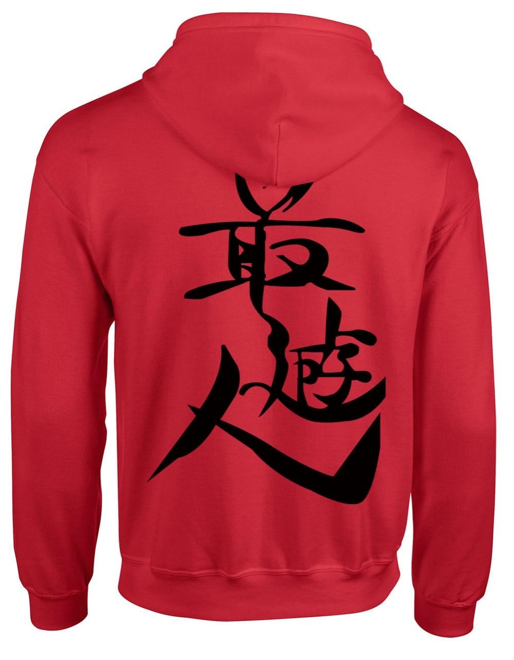 Cosplay Negro Saiyuki Animación Capucha rojo Moda blanco EWE1q64