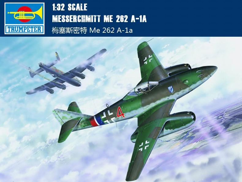 Trompette 02235 1/32 Messerchmitt Me 262 A-1a
