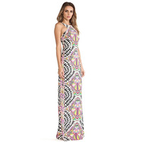 Summer Hot Sale Sleeveless Boho Printing Dress 2018 Newest Style Sexy Bodycon Long Party Dress Off